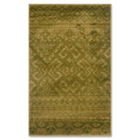 Safavieh Adirondack 3-Foot x 5-Foot Area Rug in Green/Dark Green