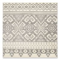 Safavieh Adirondack 6-Foot Square Area Rug in Ivory/Silver