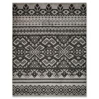 Safavieh Adirondack 9-Foot x 12-Foot Area Rug in Silver/Black