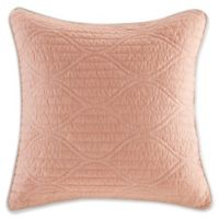 Harbor House 16-Inch x 16-Inch Seaside Coral Solid Throw Pillow in Coral