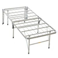 Serta® Stabl-Base Twin Bed Frame in Silver