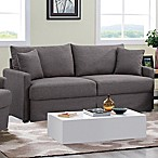 Lifestyle Solutions Yannis Sofa in Dark Grey