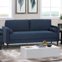Lifestyle Solutions Rutley Sofa in Navy
