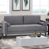 Lifestyle Solutions Rutley Sofa in Heather Grey