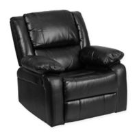 Flash Furniture Harmony Recliner in Black