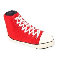 Wow! Works Hi Top Sneaker Adult Size Beanbag in Red/White