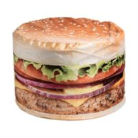 Wow Works Cheeseburger Adult Bean Bag Chair
