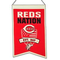 MLB Cincinnati Reds Nation Banner