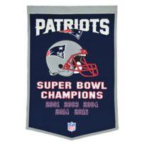 NFL New England Patriots Super Bowl LI Champions Dynasty Banner