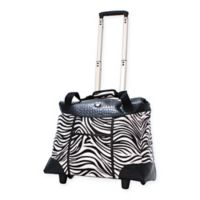 Olympia® USA Deluxe Fashion 18.5-Inch Rolling Tote in Zebra