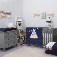NoJo® Teepee 4-Piece Crib Bedding Set