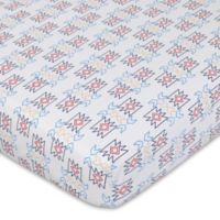 NoJo® Teepee Fitted Crib Sheet in Cream