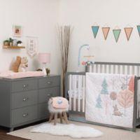 carter's® Woodland Meadow 3-Piece Crib Bedding in Aqua/Grey