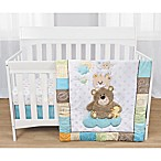 Baby's First By Nemcor Gingham Parade 3-Piece Crib Bedding Set