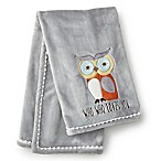 Levtex® Baby Micah Owl Blanket in Grey