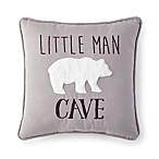 Levtex® Baby Micah  Little Man Cave  Pillow in Grey