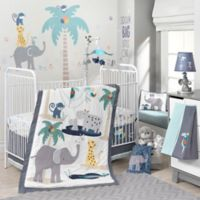 Lambs & Ivy® Animal Crackers 4-Piece Crib Bedding Set