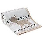 Lambs & Ivy® Meadow Deer Blanket in Tan/White