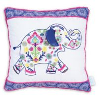 Waverly® Baby by Trend Lab® Santa Maria Henna Elephant Throw Pillow