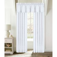 Piper & Wright Lucy 84-Inch Rod Pocket Window Curtain Panel Pair in White