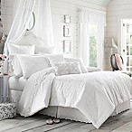 Piper & Wright Lucy Queen Comforter Set in White