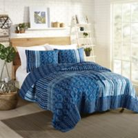 Maker's Collective by Justina Blakeney Avisa King Quilt Set in Blue