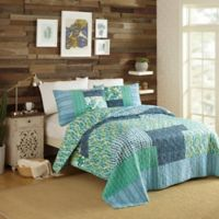 Maker's Collective by Justina Blakeney Native Springs King Quilt Set in Blue