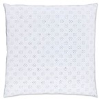 Piper & Wright Lucy European Pillow Sham in White