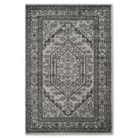 Safavieh Adirondack 6-Foot x 9-Foot Area Rug in Silver/Black