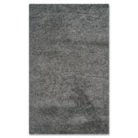 Safavieh Laguna Shag 2-Foot 3-Inch x 4-Foot Accent Rug in Dark Grey