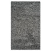 Safavieh Laguna Shag 3-Foot x 5-Foot Accent Rug in Dark Grey