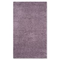 Safavieh Laguna Shag 4-Foot x 6-Foot Area Rug in Purple