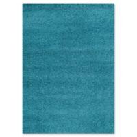 Safavieh Laguna Shag 5-Foot 3-Inch x 7-Foot 6-Inch Rug in Turquoise