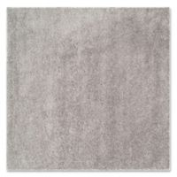 Safavieh Laguna Shag 5-Foot 7-Foot 6-Inch Square Rug in Silver