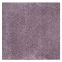 Safavieh Laguna Shag 6-Foot 7-Inch Square Rug in Purple