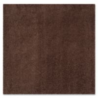 Safavieh Laguna Shag 6-Foot 7-Inch Square Area Rug in Brown