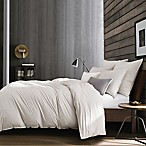 Kenneth Cole Escape Foulard Full/Queen Duvet Cover in Grey