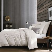Kenneth Cole Escape Foulard Twin Duvet Cover in Grey