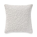 Kenneth Cole Escape Foulard 18-Inch Square Throw Pillow in White