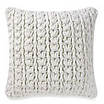 Kenneth Cole Escape 20-Inch Square Throw Pillow in Lemon