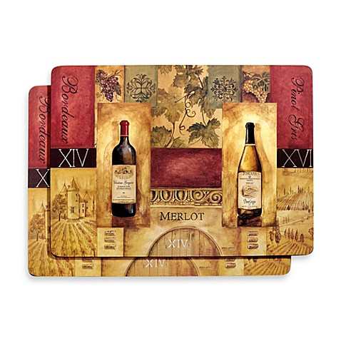 Avanti Chateau Gregoire Placemats Set Of 2 Bed Bath