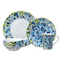 222 Fifth Solena 16-Piece Dinnerware Set in Blue