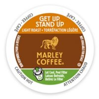 Marley Coffee® 12-Count Get Up, Stand Up Coffee for Single Serve Coffee Makers