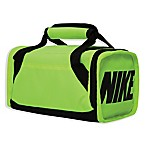 Nike Brasilia Insulated Duffel Bag in Neon Green