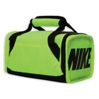 Nike Brasilia Insulated Duffel Bag in Neon Green