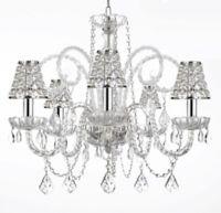 Empress Crystal Plug-In 5-Light Chandelier