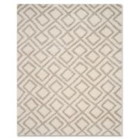 Safavieh Arizona 8-Foot x 10-Foot Shag Area Rug in Ivory/Beige