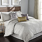 Callie 7-Piece Queen Comforter Set in Grey