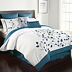 Michela 8-Piece Queen Comforter Set in Petrol