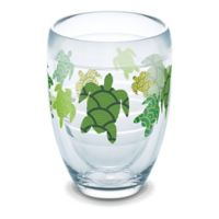 Tervis® Turtle Pattern 9 oz. Stemless Wine Glass